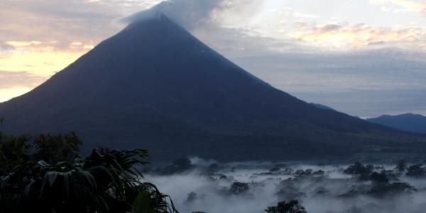 Arenal Volcano Sunrise